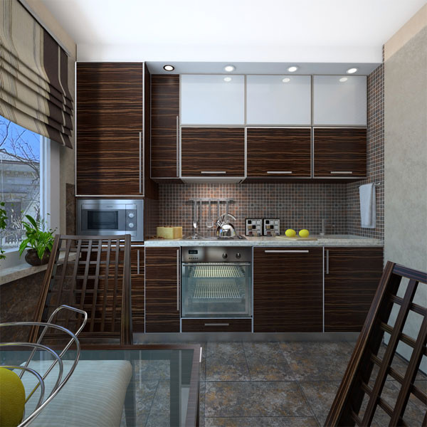 Кухня линейная