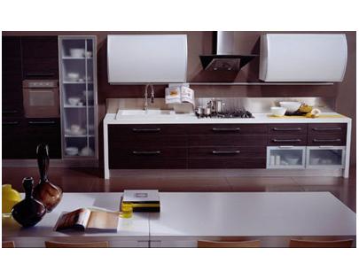 Кухня линейная «Новый Стиль»