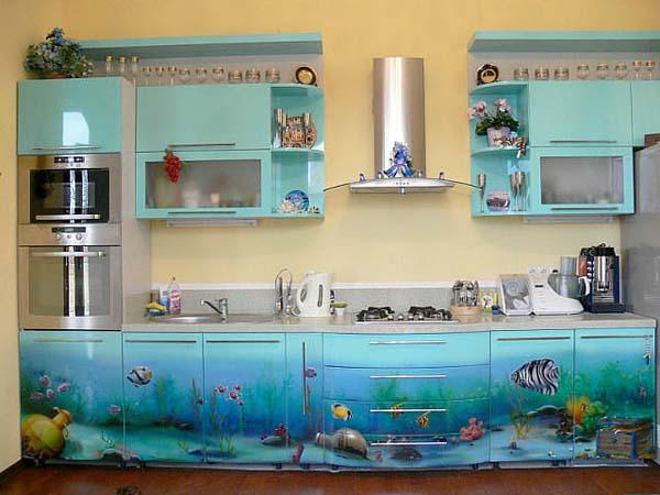 """Кухня """"Морские глубины"""""""