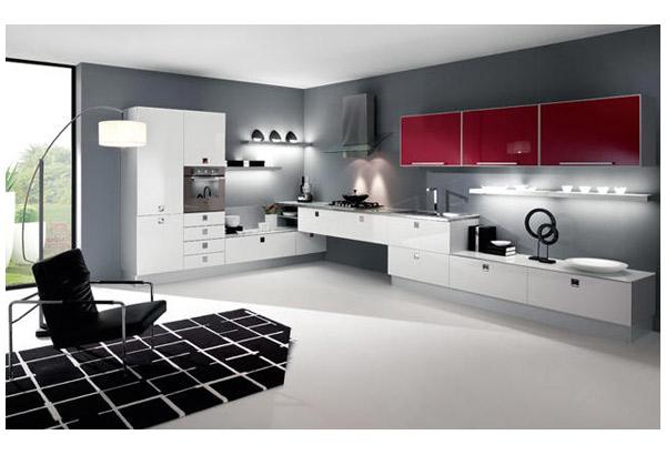 Кухня нестандартной конфигурации