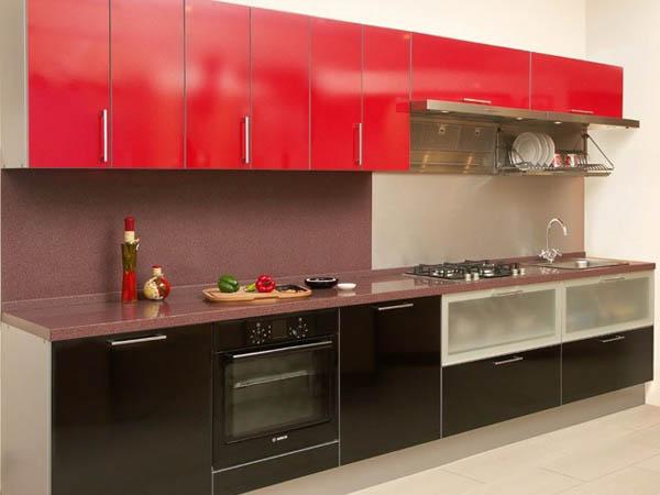 Кухня прямая модерн
