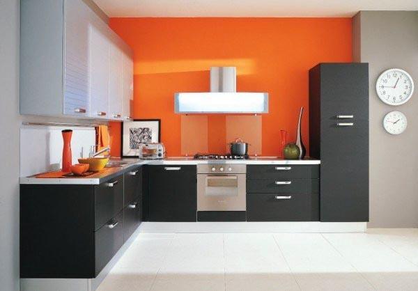 Кухня стильная угловая