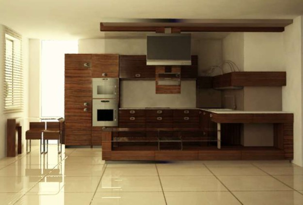 Кухня угловая «Эксклюзив»