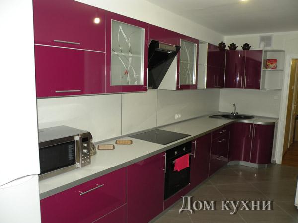 Кухня угловая «Фиалка»