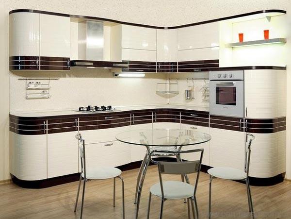 Кухня угловая гармоничная