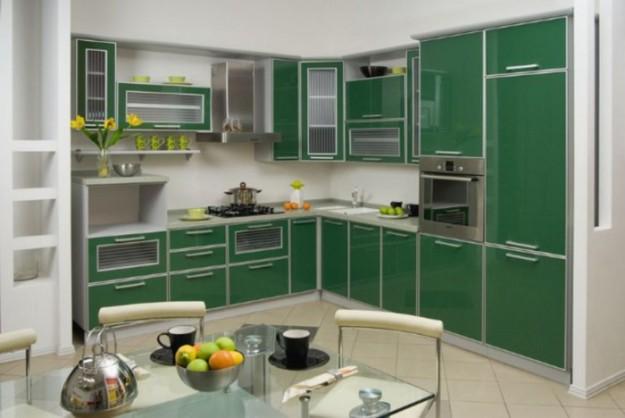 Кухня угловая «Green»