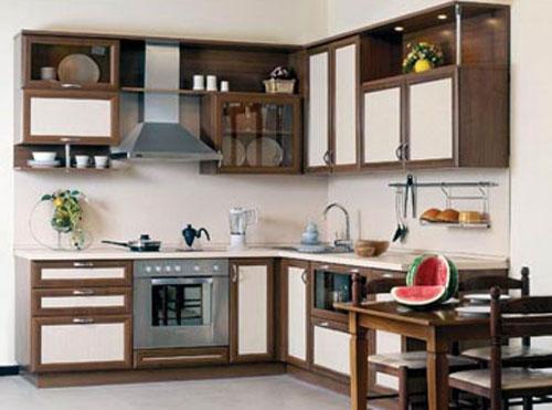 Кухня угловая из рамочного МДФ