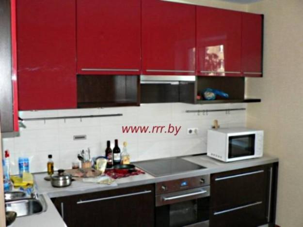 Кухня угловая (крашеные фасады)