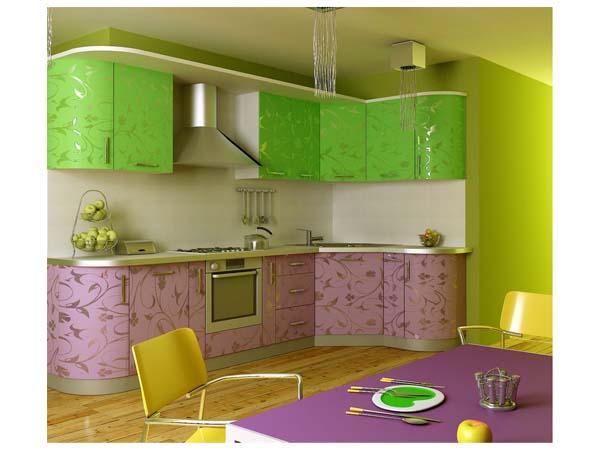 Кухня угловая пластиковая