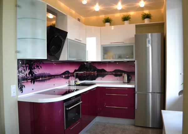 Кухня угловая в современном стиле
