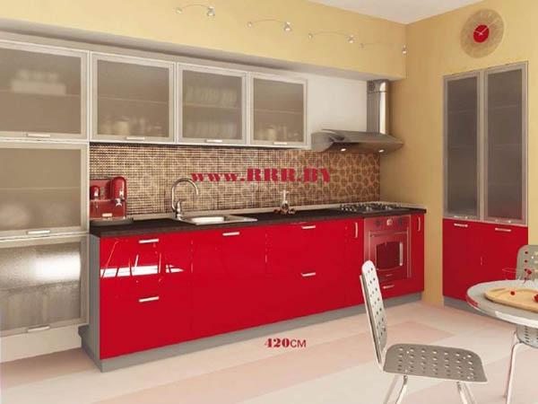 Кухня угловая встраиваемая