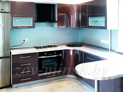Кухня ЗОВ №12 «Антрацит»