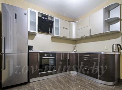 Кухня ЗОВ №15 «Платина-Антрацит»