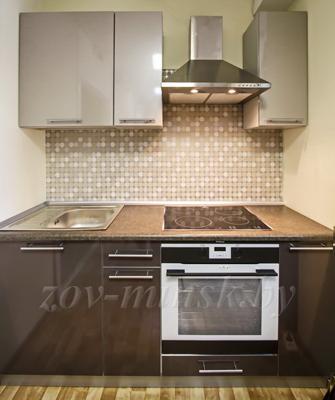 Кухня ЗОВ №16 «Платина-Антрацит»