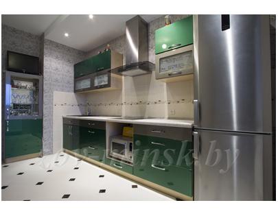 Кухня ЗОВ №40 «Изумрудная»