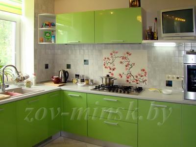 Кухня ЗОВ №43 «Салатовая»