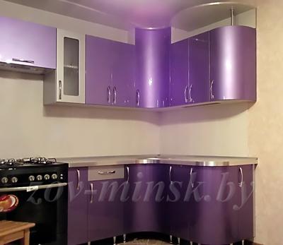 Кухня ЗОВ №46 «Радиусная»