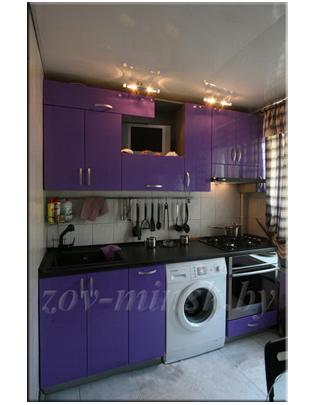 Кухня ЗОВ №47 «Фиолетовая»