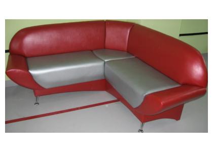 Кухонный диван с мягкой спинкой «Браво»