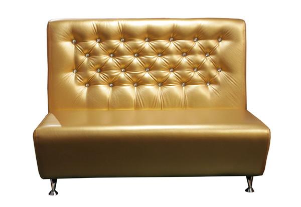 Кухонный диван золотистый «Караван»