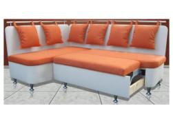 Кухонный угловой диван с выдвижным ящиком «Метро СВ»