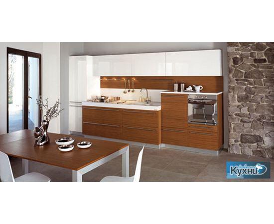 Линейная кухня в стиле Модерн