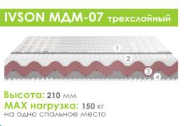Матрас беспружинный «Ivson МДМ-07»