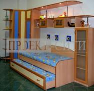 Мебель для детской с двойной кроватью