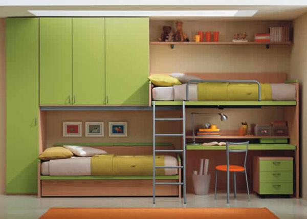 Мебель для детской салатовая