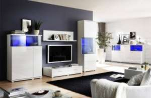 Мебель для гостиной белая