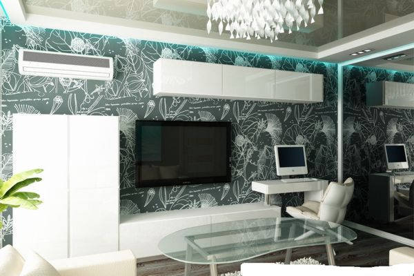 Мебель для гостиной с компьютерным столом