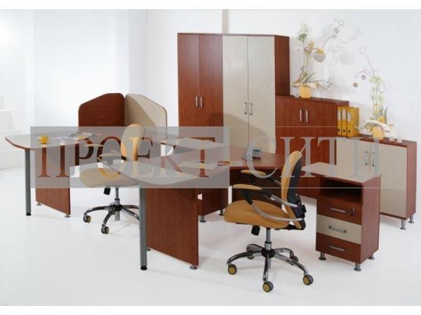 Мебель для офиса с перегородками