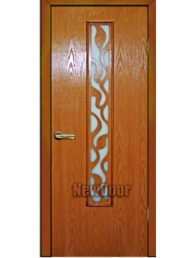 Межкомнатная дверь с природным узором