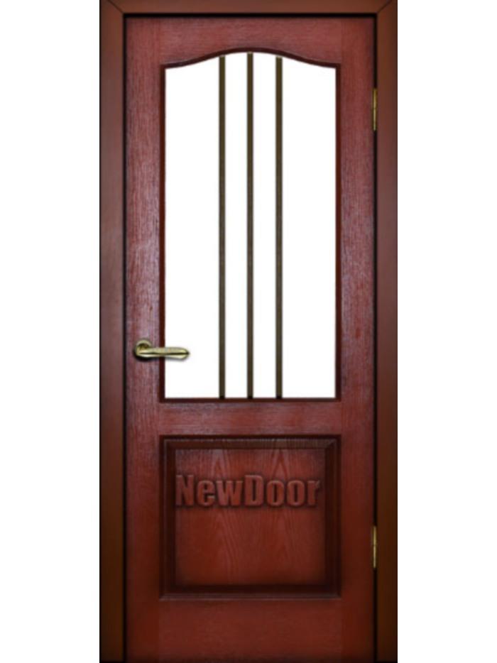 Межкомнатная дверь с тремя полосками