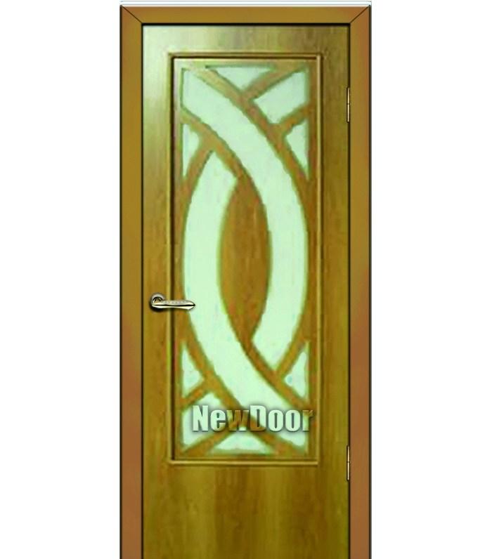 Межкомнатная дверь узорная