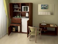 Мини-кухня со столом