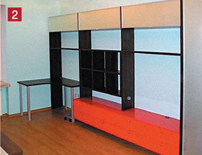 Модульная система для детской комнаты