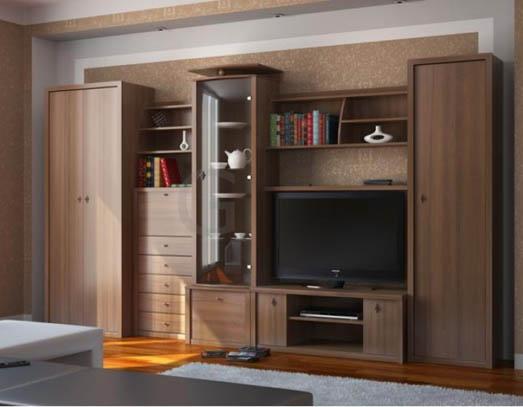 Набор корпусной мебели для гостиной «Кай»