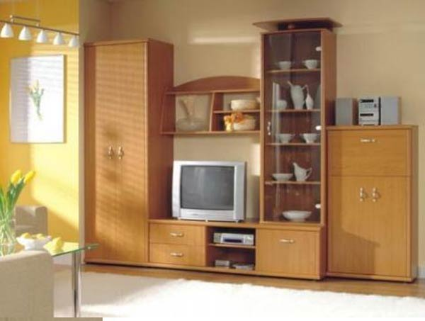 Набор корпусной мебели для гостиной «Тристан»