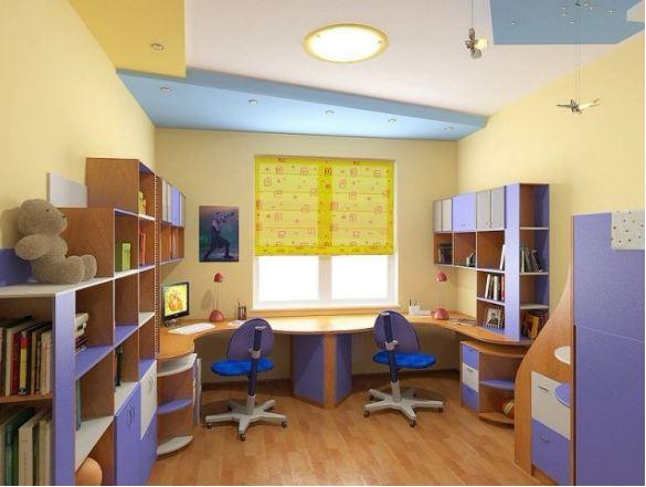 Набор мебели для детской для двоих