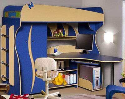 Набор мебели для детской КМК-Мебель «Альфа 3»