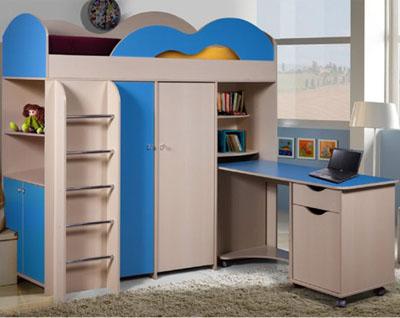 Набор мебели для детской «Лагуна»