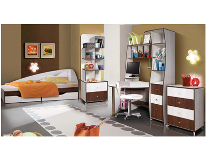 Набор мебели для детской «Лагуна №4»