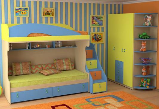 Набор мебели для детской «Миа»