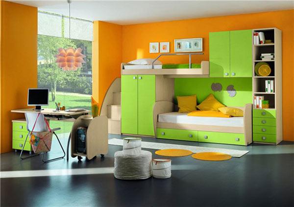 Набор мебели для детской салатовый