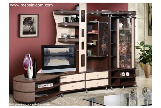 Набор мебели для гостиной «Орфей 12 №1»