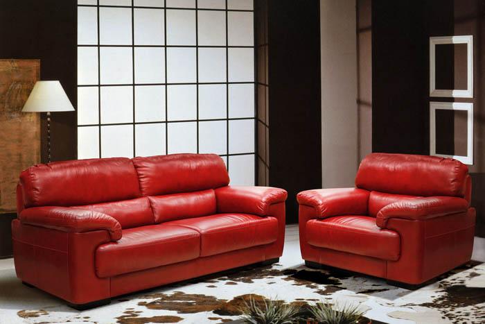 "Набор мебели из кожи ""Онтарио"""