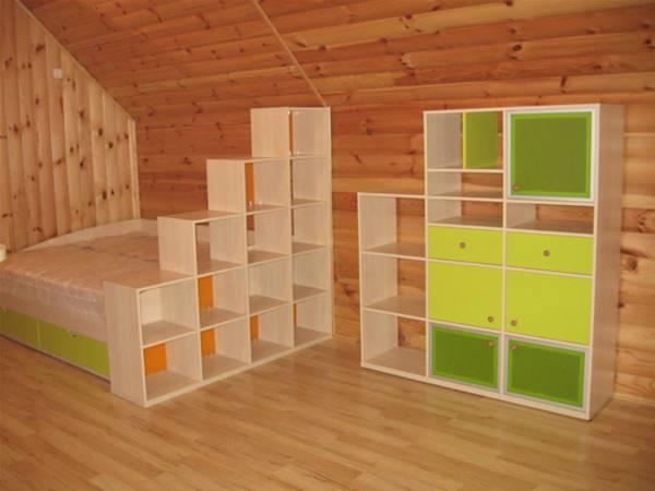 Набор мебели с двухспальной кроватью