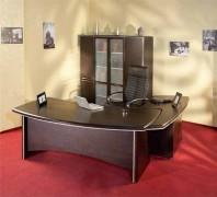 Набор в кабинет руководителя цвета венге