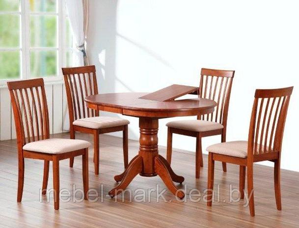 Обеденная группа с овальным столом